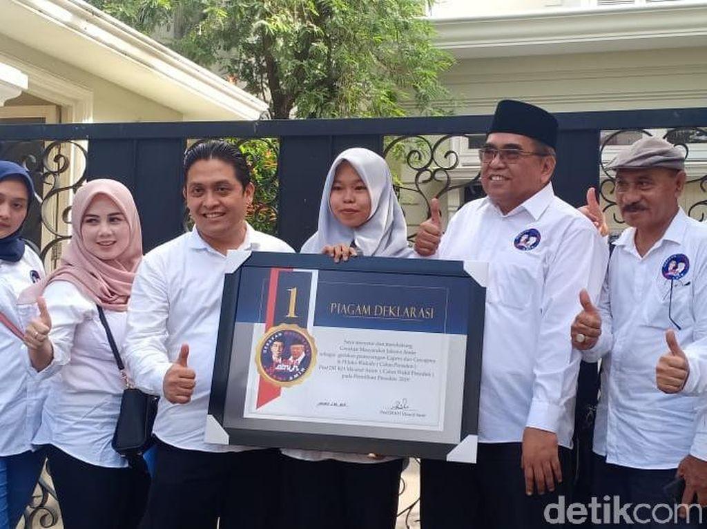 Relawan Gema Jokowi-Amin Siap Tingkatkan Suara di 6 Provinsi