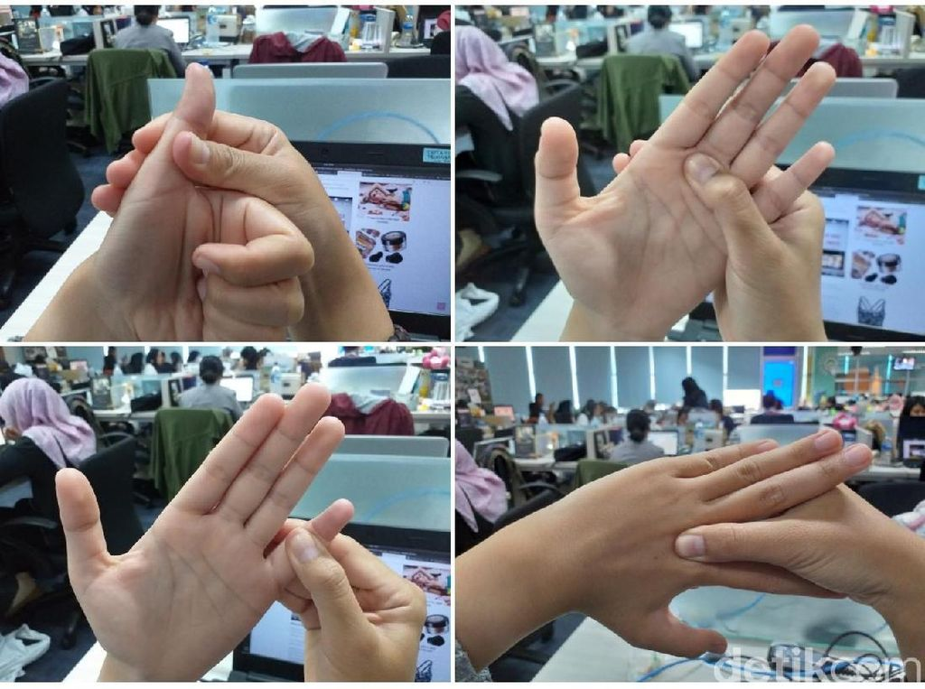 Usir Flu dan Sinus dengan 5 Pijatan Ringan di Tangan Seperti Ini