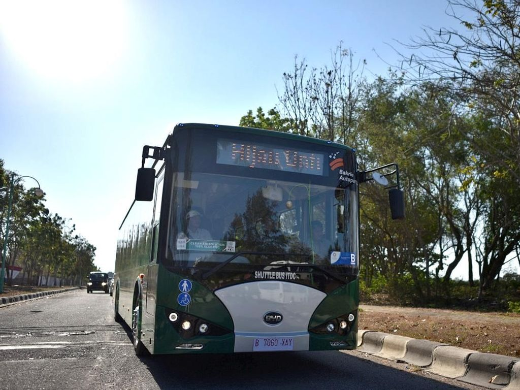 Bakrie Bikin Bus Listrik, Begini Penampakannya