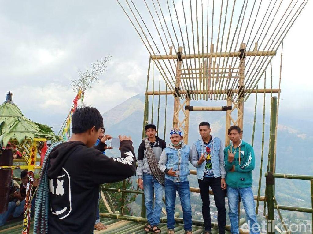 Foto: Bukit Buat Selfie Kekinian di Probolinggo