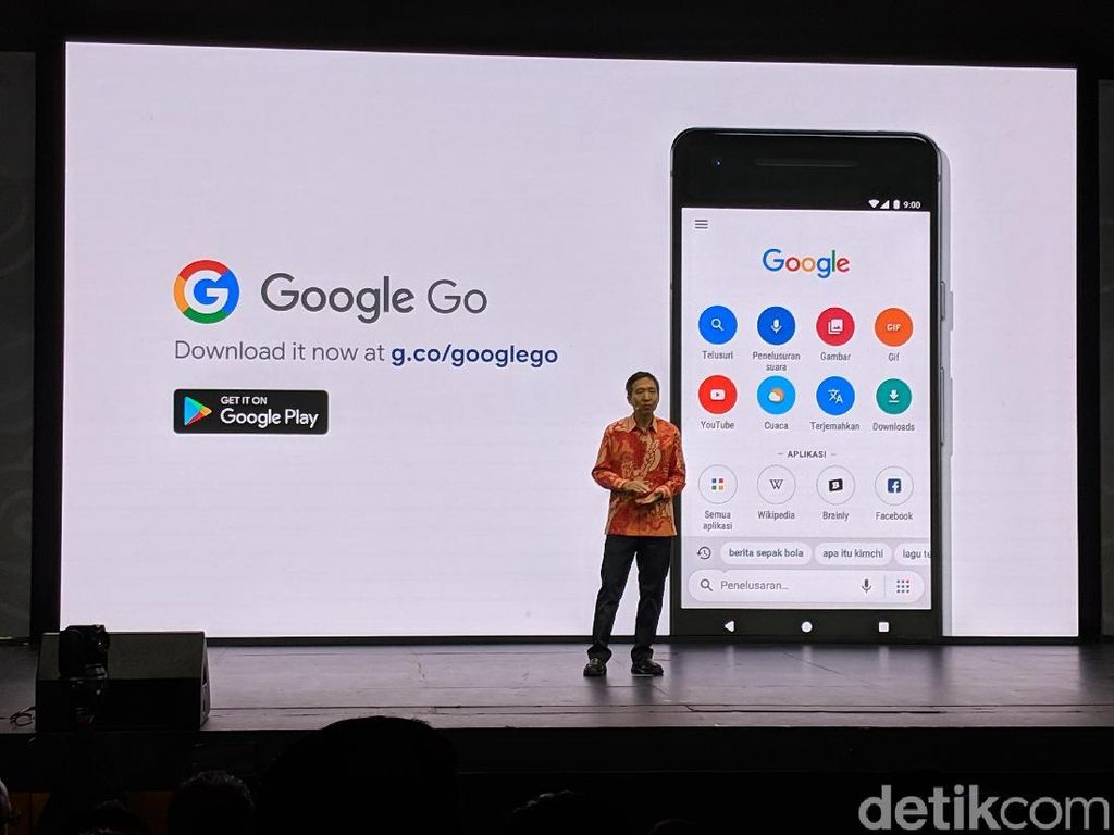 Google Go, Aplikasi Pencarian untuk Jaringan Internet Lambat
