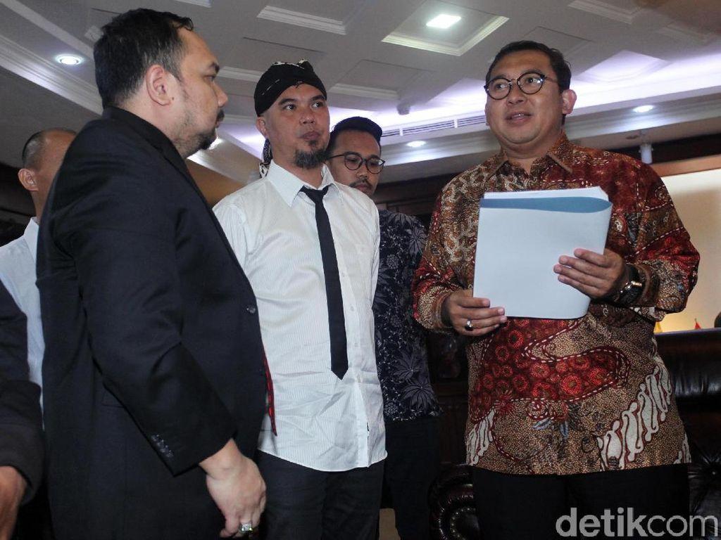 Video: Ahmad Dhani Ngadu ke Fadli Zon soal Kasusnya