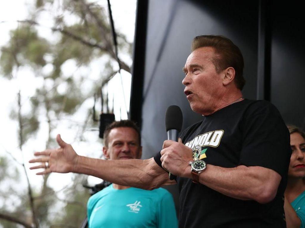 Transformasi Arnold Schwarzenegger, Terminator yang Kini Susah Olahraga