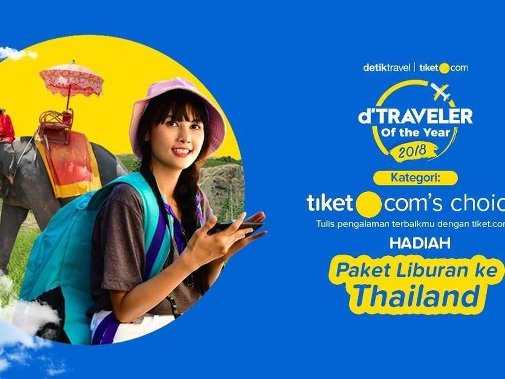 Liburan Gratis ke Thailand dari tiket.com, Syaratnya Gampang