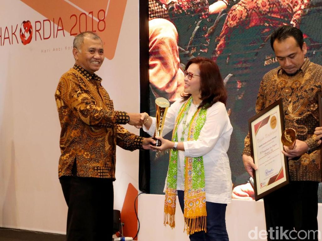 Penghargaan untuk Para Pegiat Antikorupsi