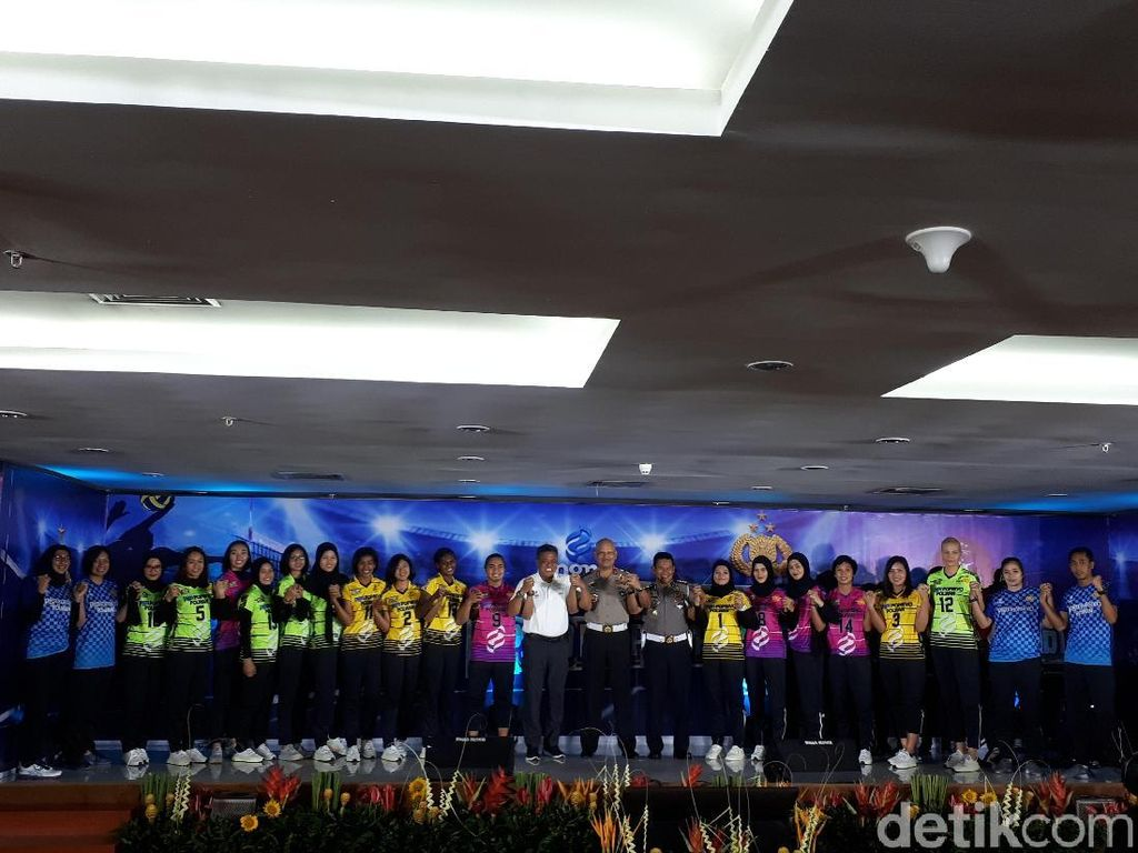 PGN Popsivo Resmi Luncurkan Tim Putri ke Proliga 2019