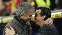 Jelang MU vs Arsenal: Mourinho Nyaris Sempurna atas Emery
