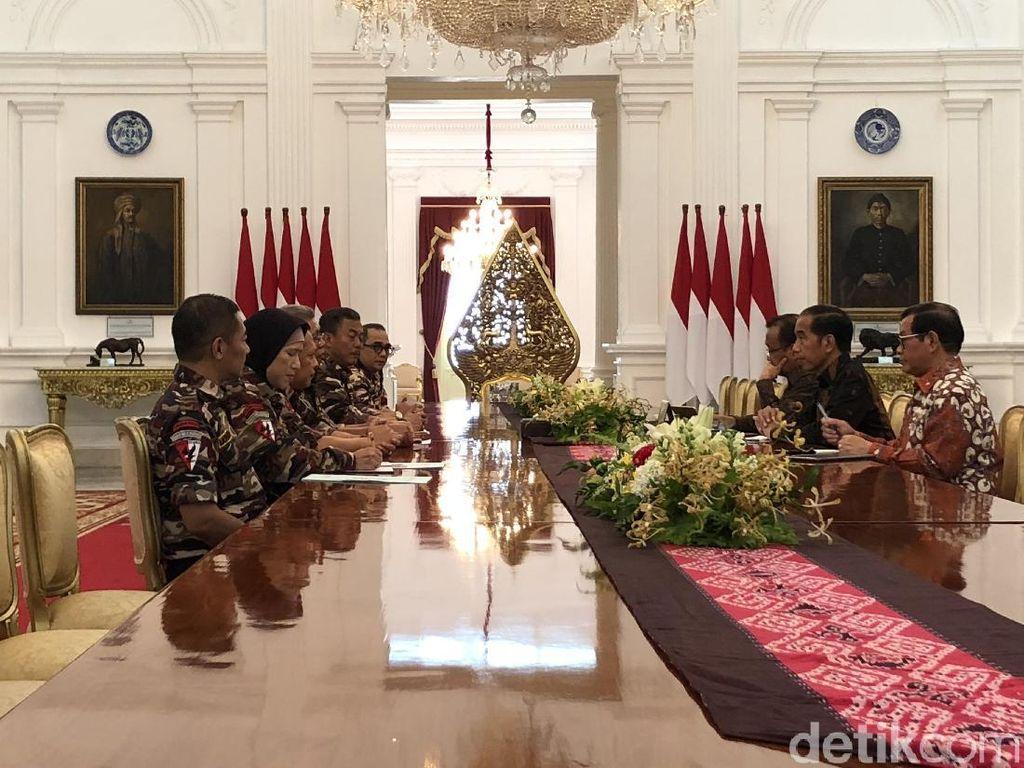 FKPPI Temui Jokowi di Istana, Undang Jambore Bela Negara