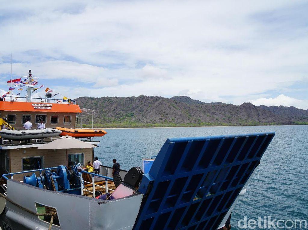 Foto: Kapal Wisata Seru Buat Keliling TN Komodo