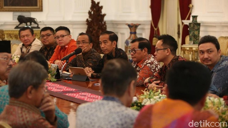 Perhimpunan Tionghoa Temui Jokowi Bahas SDM Hingga Lapangan Kerja