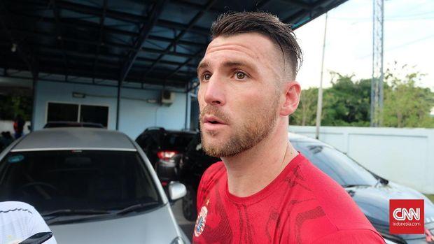 Marko Simic jadi bomber andalan Persija Jakarta sejak musim lalu.