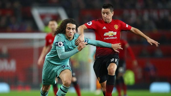 Manchester United imbang 2-2 dengan Arsenal. (Foto: Clive Brunskill/Getty Images)