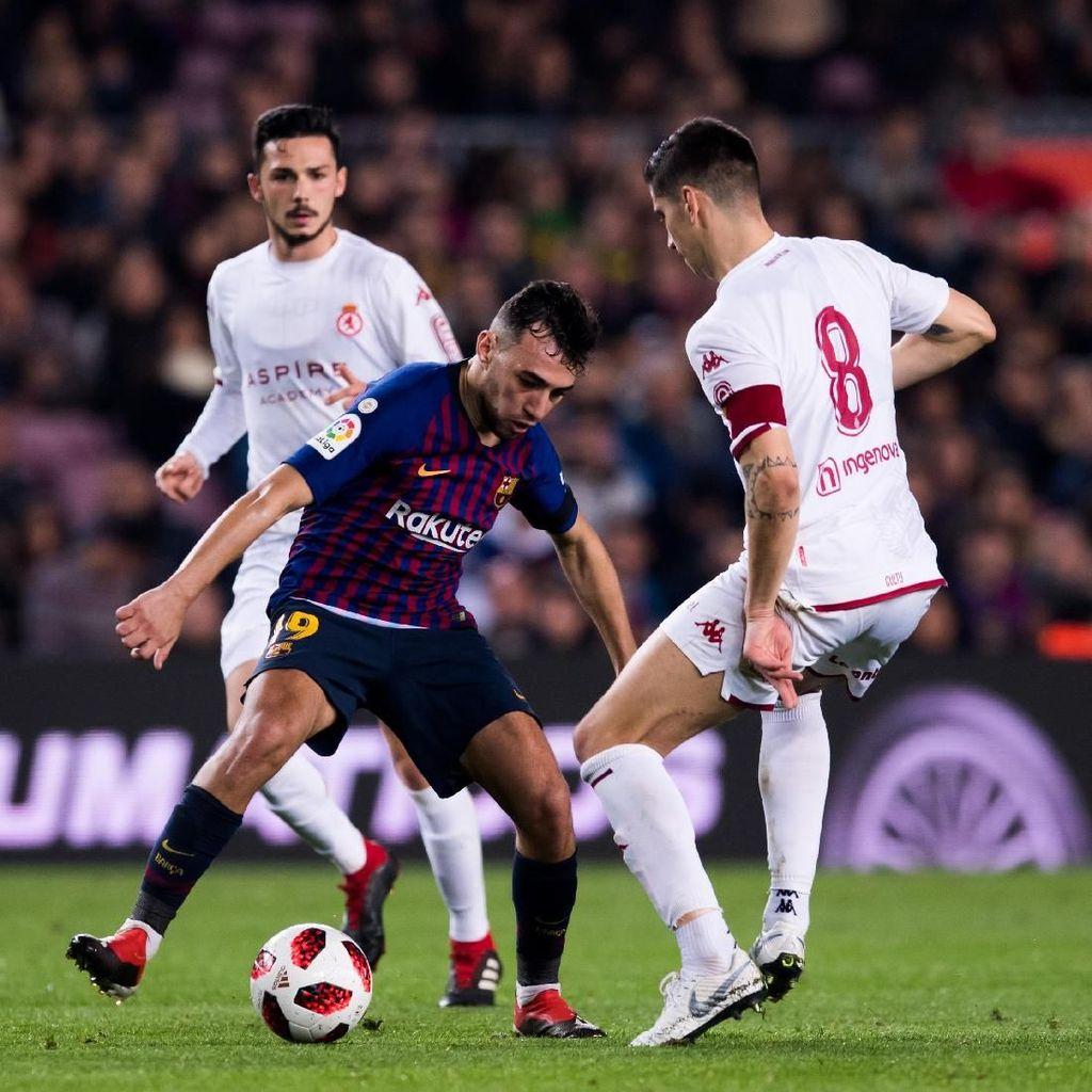 Hasil Copa del Rey: Libas Cultural Leonesa, Barcelona Lolos 16 Besar