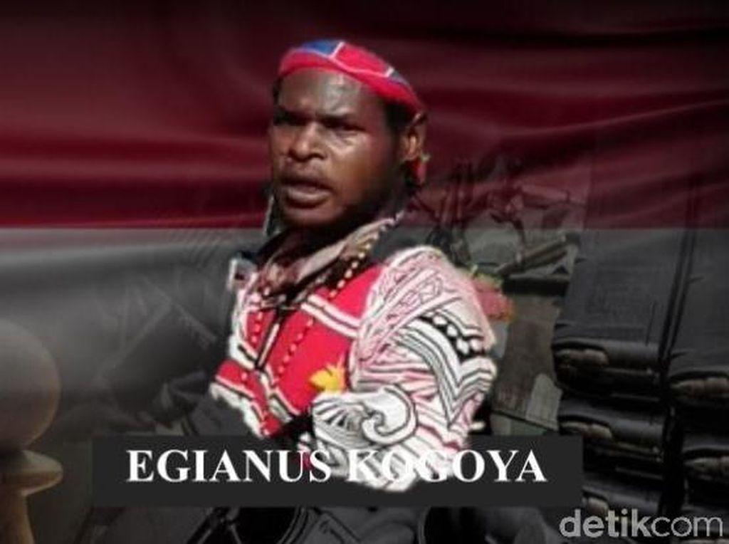Pelaku Penyerangan TNI di Nduga Kelompok Egianus Kogoya