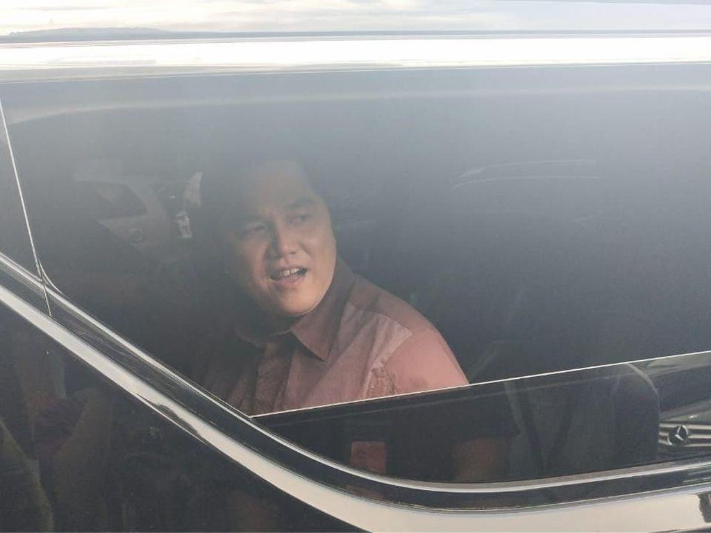 Erick Thohir Ngopi Bareng Wiranto