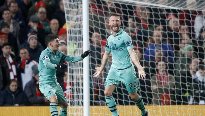 Arsenal sudah 20 laga beruntun tak terkalahkan (Reuters)