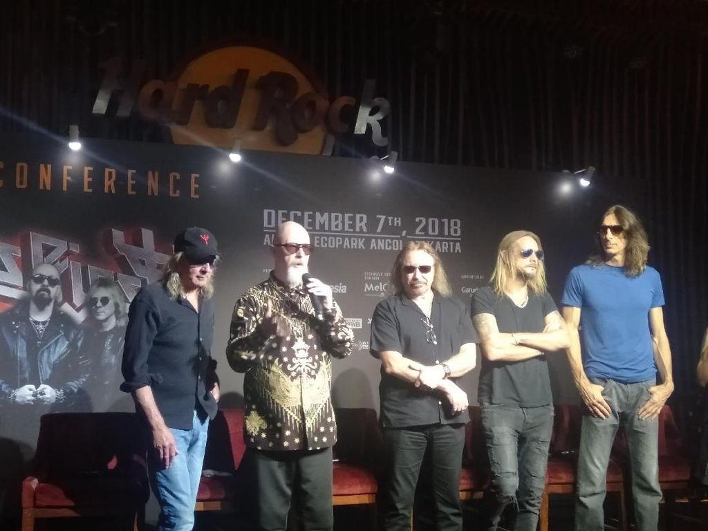 Pertama Kali ke Indonesia, Ini Kata Judas Priest soal Kemacetan Jakarta