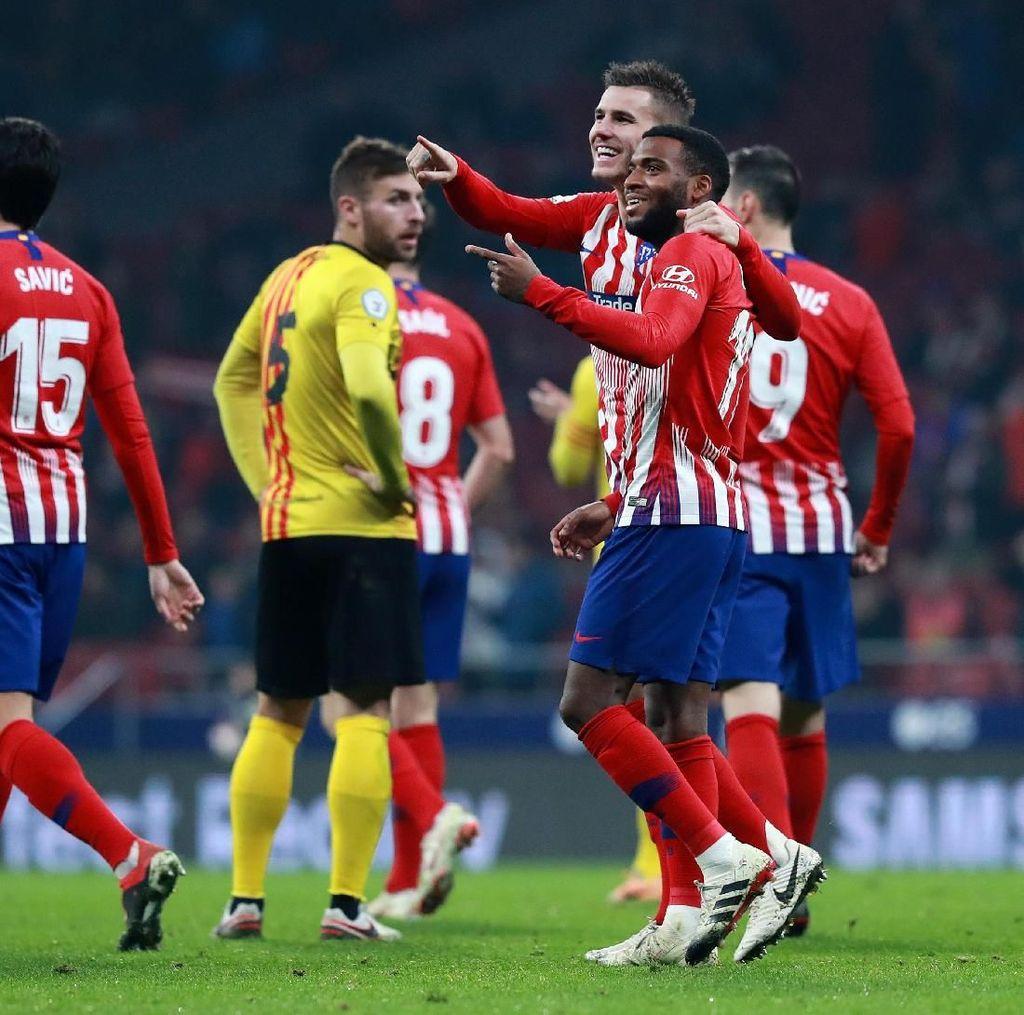 Hasil Copa del Rey: Bantai Sant Andreu 4-0, Atletico Lolos