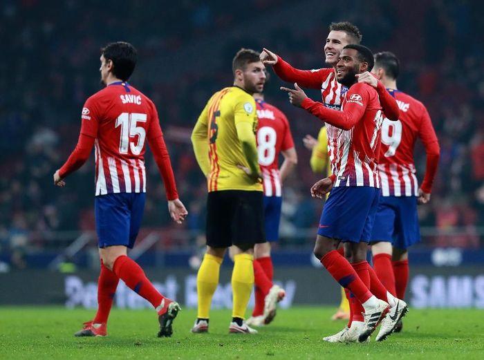 Atletico Madrid melaju ke babak 16 besar Copa del Rey. (Foto: Gonzalo Arroyo Moreno/Getty Images)