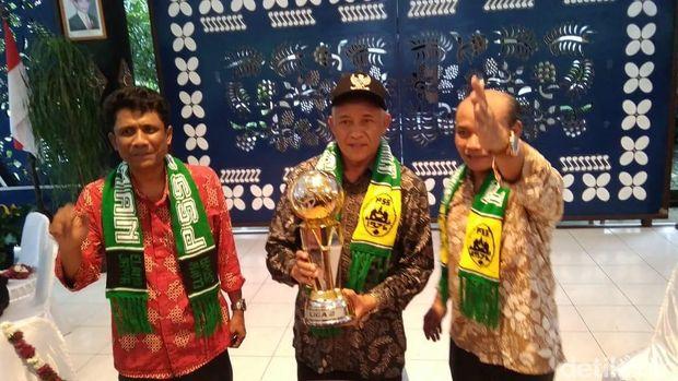 Meriahnya Perayaan Gelar Juara Liga 2 PSS Sleman