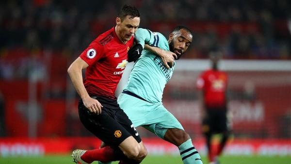 Hasil MU vs Arsenal: Dua Kali Tertinggal, Setan Merah Imbangi Meriam London