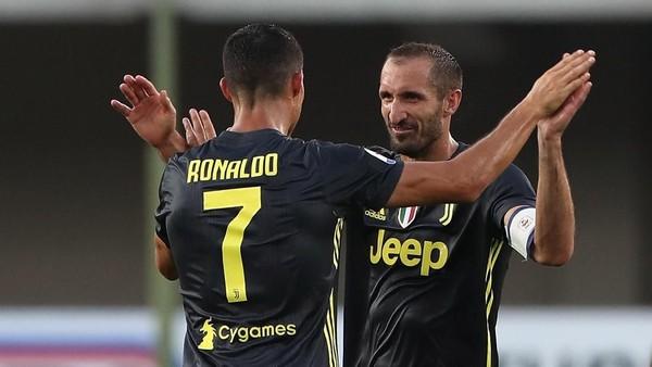 Juventus vs Inter: Tak Hanya Ronaldo, Chellini pun Jadi Ancaman Nerazzurri