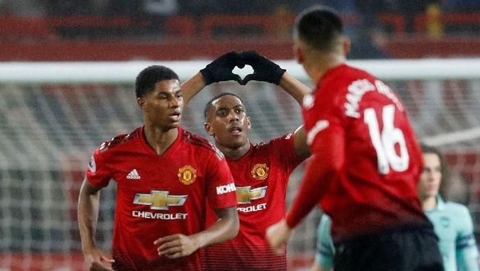 Manchester United akan menghadapi tim juru kunci Fulham di akhir pekan ini . Foto: Reuters