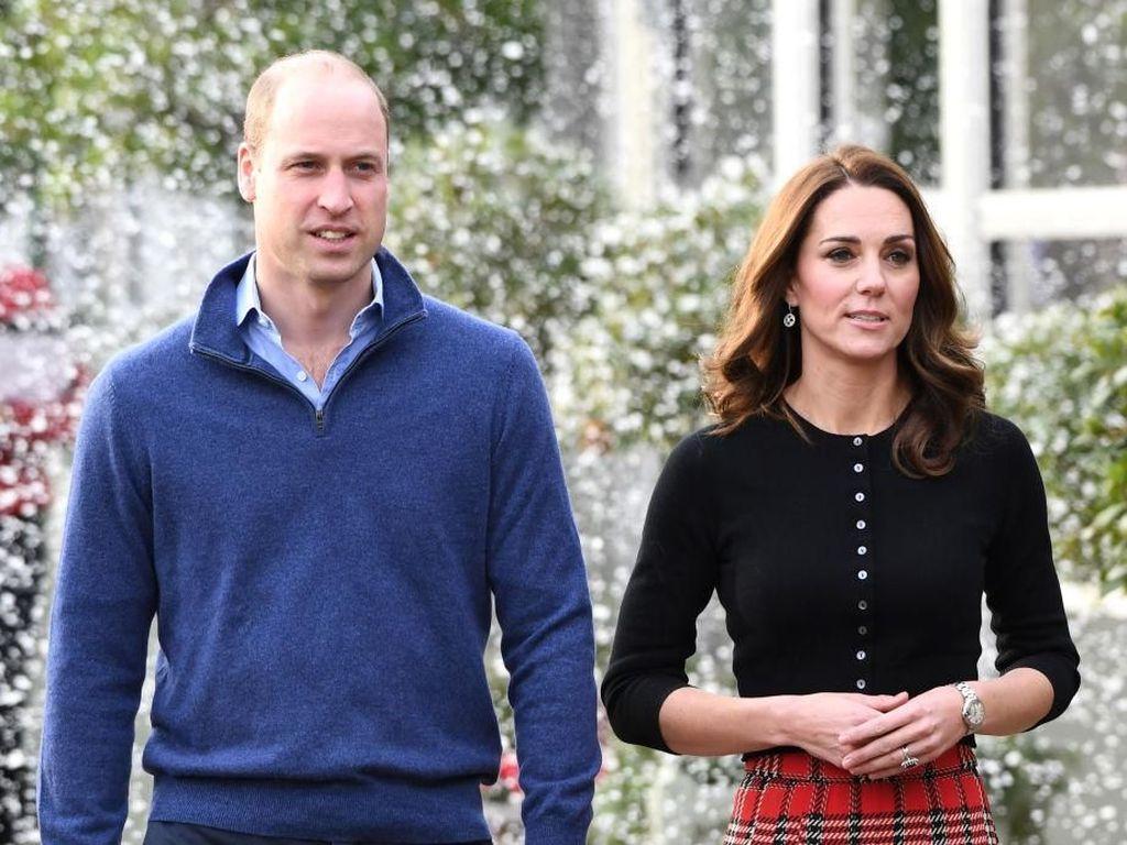 Alasan Pangeran William Tak Ajak Anak-anaknya ke Pesta Natal