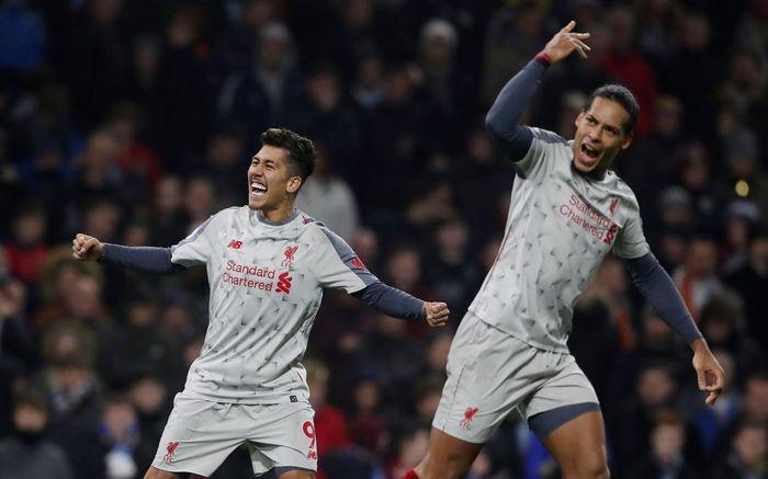 Liverpool masih tak terkalahan di pekan ke-15 Premier League. Comeback, The Reds menang 3-1 saat melawat ke markas Burnley. REUTERS/Scott Heppell.