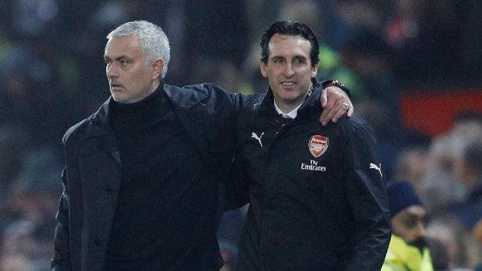 Unai Emery puas meski Arsenal batal menang dalam lawatan ke Manchester United (Reuters)