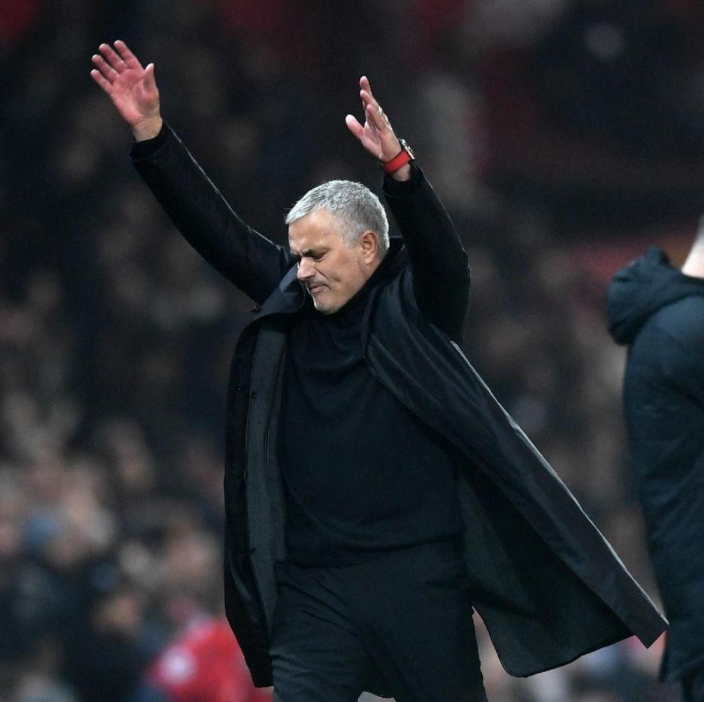 Deja Vu Jose Mourinho: Dipecat Usai Kalah dari Tim Pemuncak Klasemen