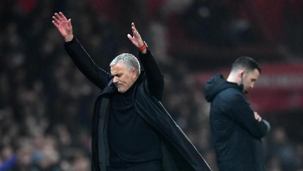 Mourinho: MU Bikin Empat Gol Tapi Hasilnya Imbang!