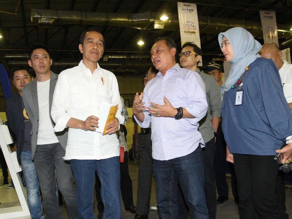 Jokowi Hadiri BTN Digital Start Up Connect 2018