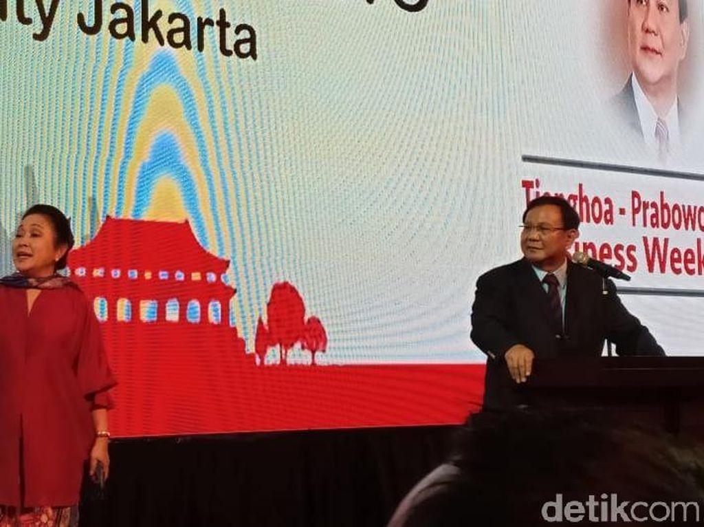 Prabowo: Saya Harus Jadi Pemimpin Semua Suku, Agama, Etnis