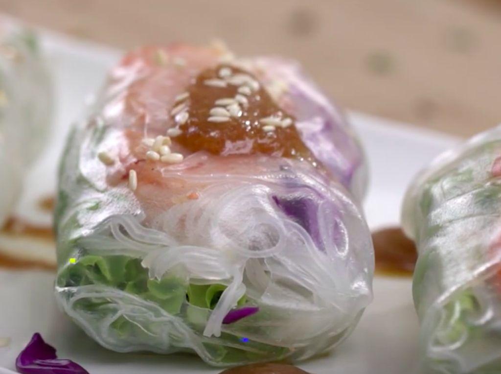 Resep Lumpia Basah Udang Sayur, Menu Sehat untuk Diet