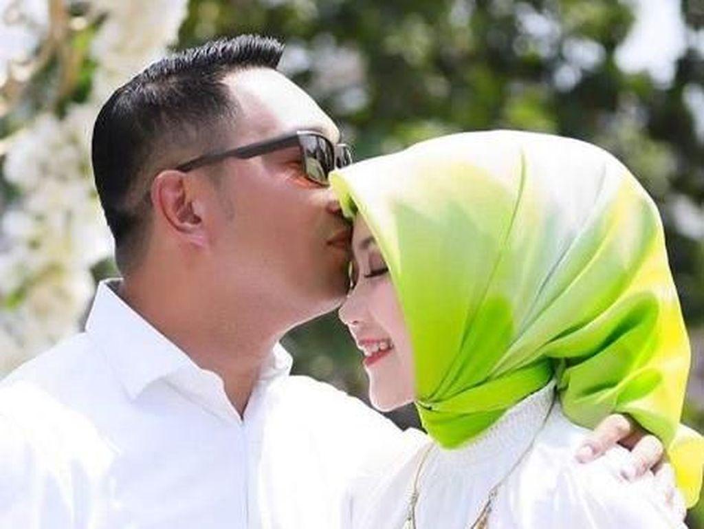 Doa Manis Ridwan Kamil untuk Istri Saat Anniversary Pernikahan