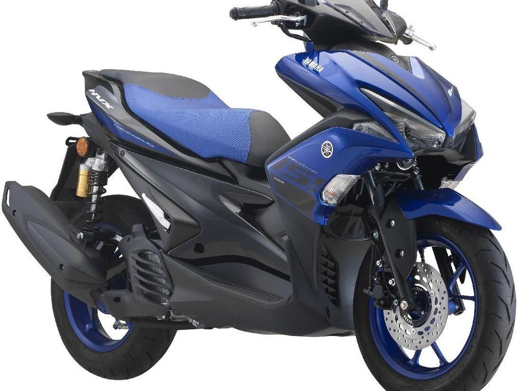 Yamaha Aerox Dapat Warna Baru di Negeri Jiran