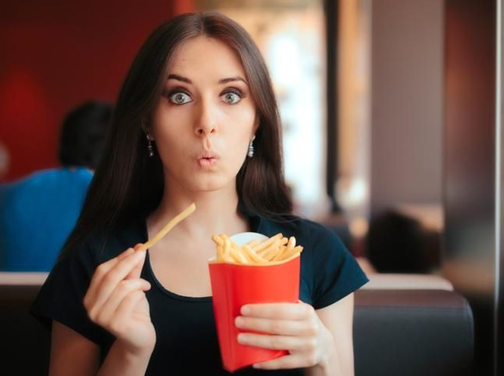 Kalau Mau Tetap Sehat, Makan French Fries Cukup 6 Potong Saja