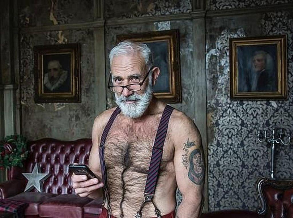 Foto: Saat Sinterklas Bertransformasi Menjadi Kakek Hipster Tampan