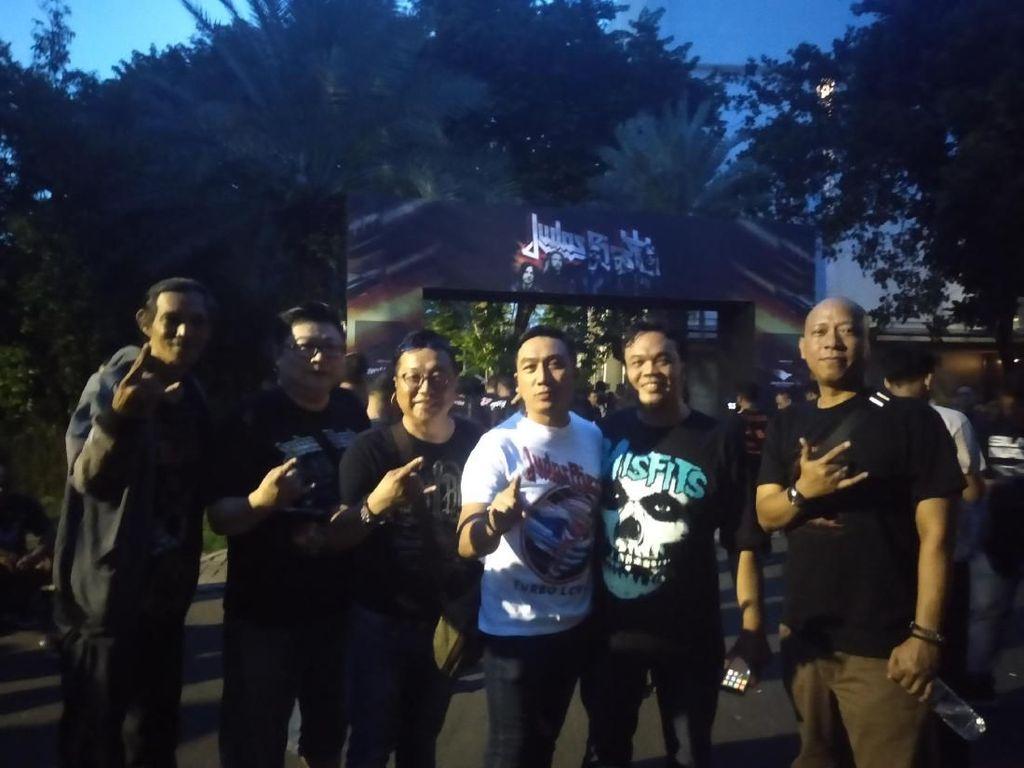 Penggemar Tak Sabar Nikmati Konser Judas Priest di Ancol