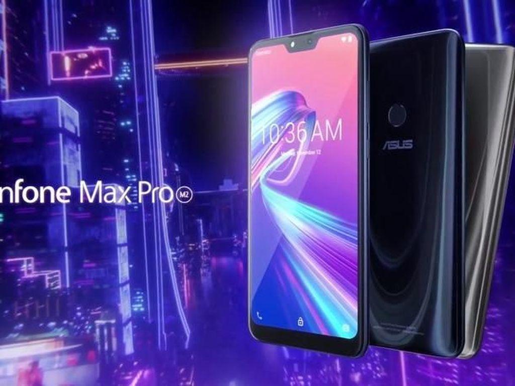 Ini Spek Lengkap Zenfone Max M2 dan Zenfone Max Pro M2