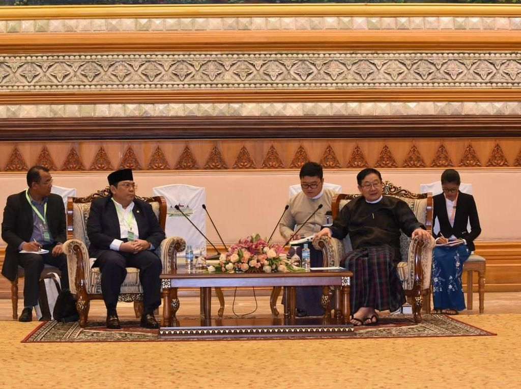 DPR RI dan Parlemen Myanmar Sepakat Bentuk Grup Kerja Sama