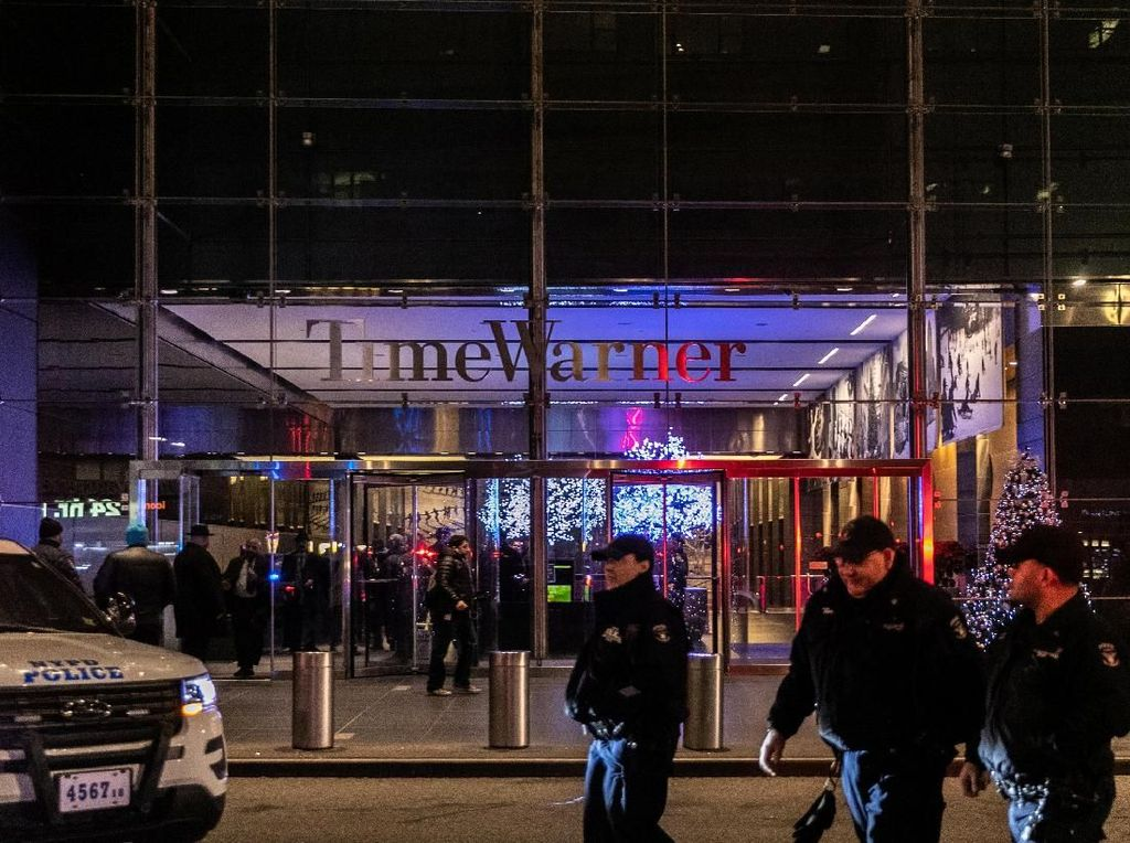 Kantor CNN New York Terima Ancaman Bom, Pekerja Dievakuasi