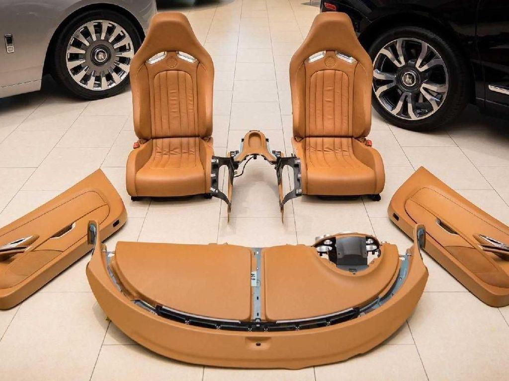 Gokil! Interior Bugatti Veyron Harganya Bikin Kaget