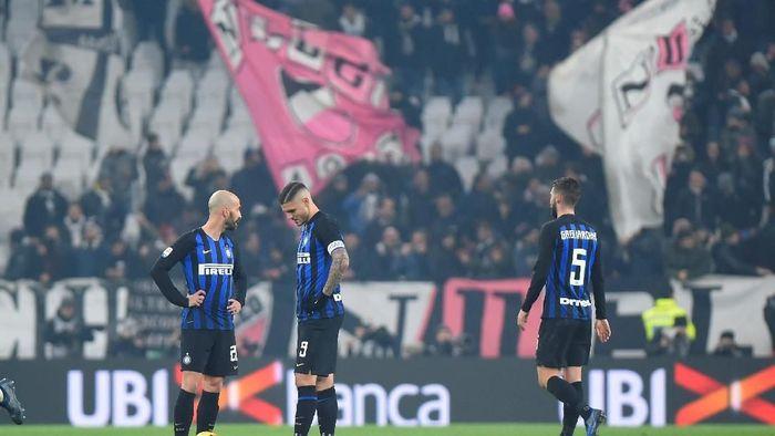 Inter Milan kalah 0-1 di markas Juventus (Foto: Reuters)