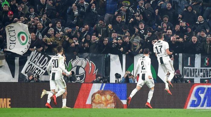 Juventus menyamai rekor start terbaik setelah 15 pekan, yang sebelumnya diciptakan PSG. (Foto: Massimo Pinca/Reuters)