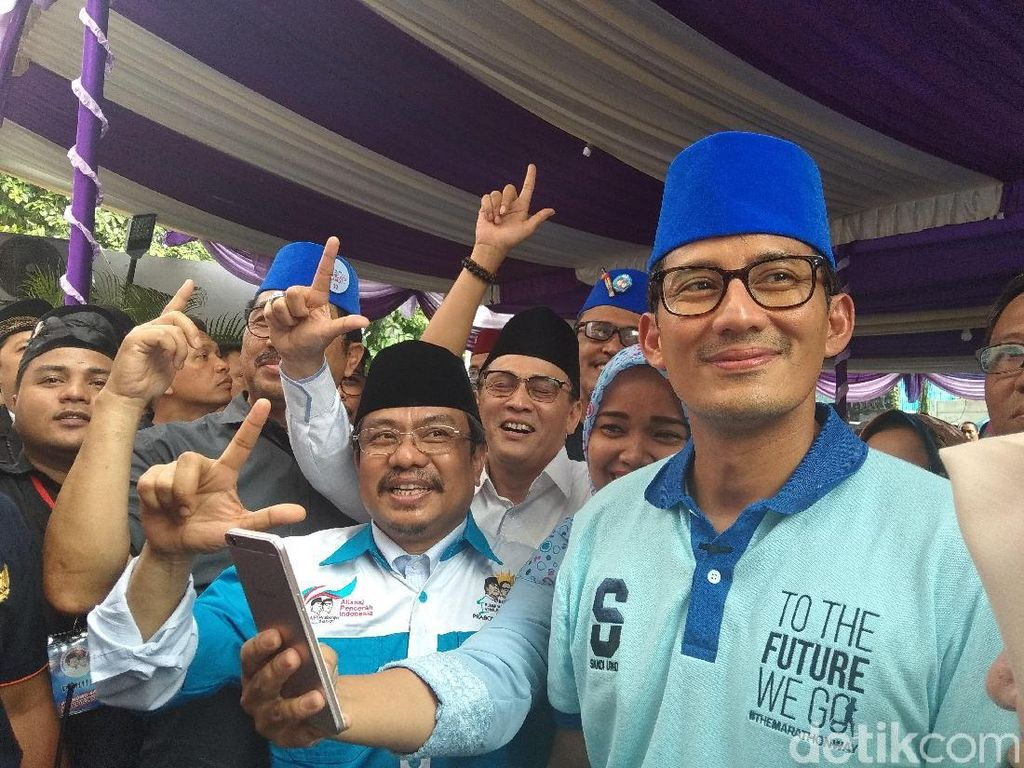 Gerindra ke PDIP: Sandi Bermarkas di Jateng Bukan Serang Jokowi