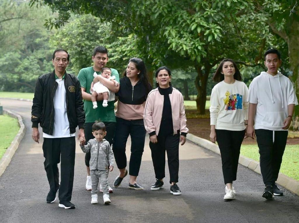Foto: Weekend Santai Jokowi Bareng Jan Ethes dan Sedah Mirah di Bogor