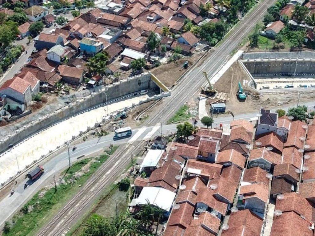 Ada Underpass, Lalu Lintas di Karangsawah Tak Lagi Terhalang Kereta