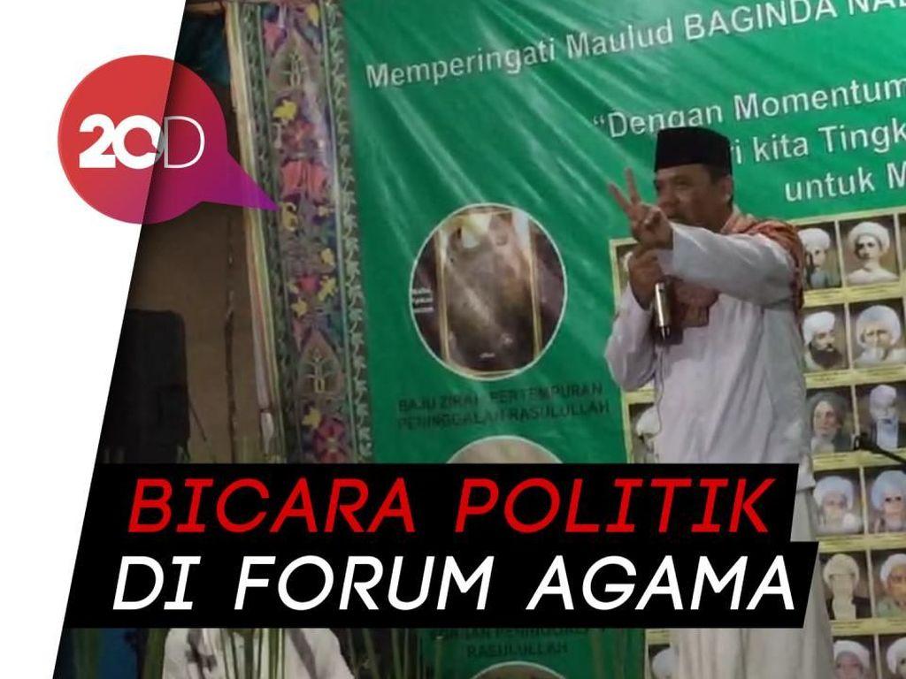 Ceramah Maulid, Gus Nur Bicara 2019 Ganti Presiden